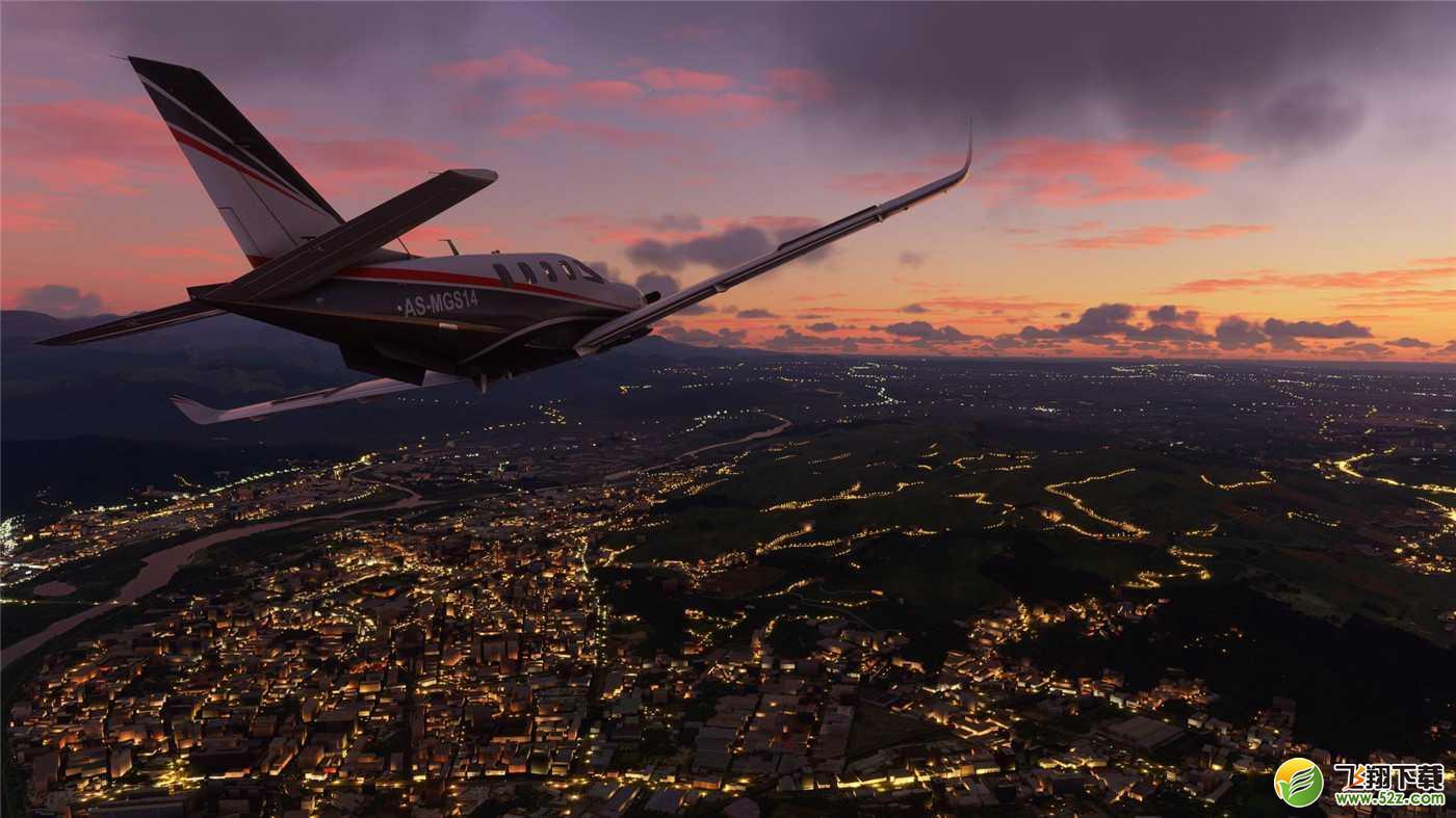 微软模拟飞行免安装版_52z.com