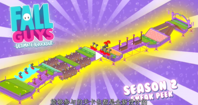 《糖豆人:终极淘汰赛》第二赛季新地图/新皮肤爆料_52z.com
