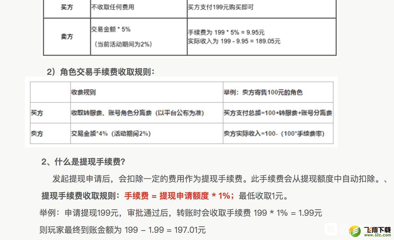 剑网3万宝楼账号角色的交易规则一览_52z.com