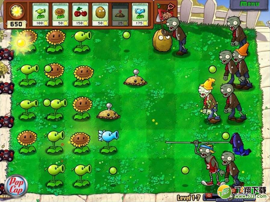 Plants vs Zombies免费版_52z.com
