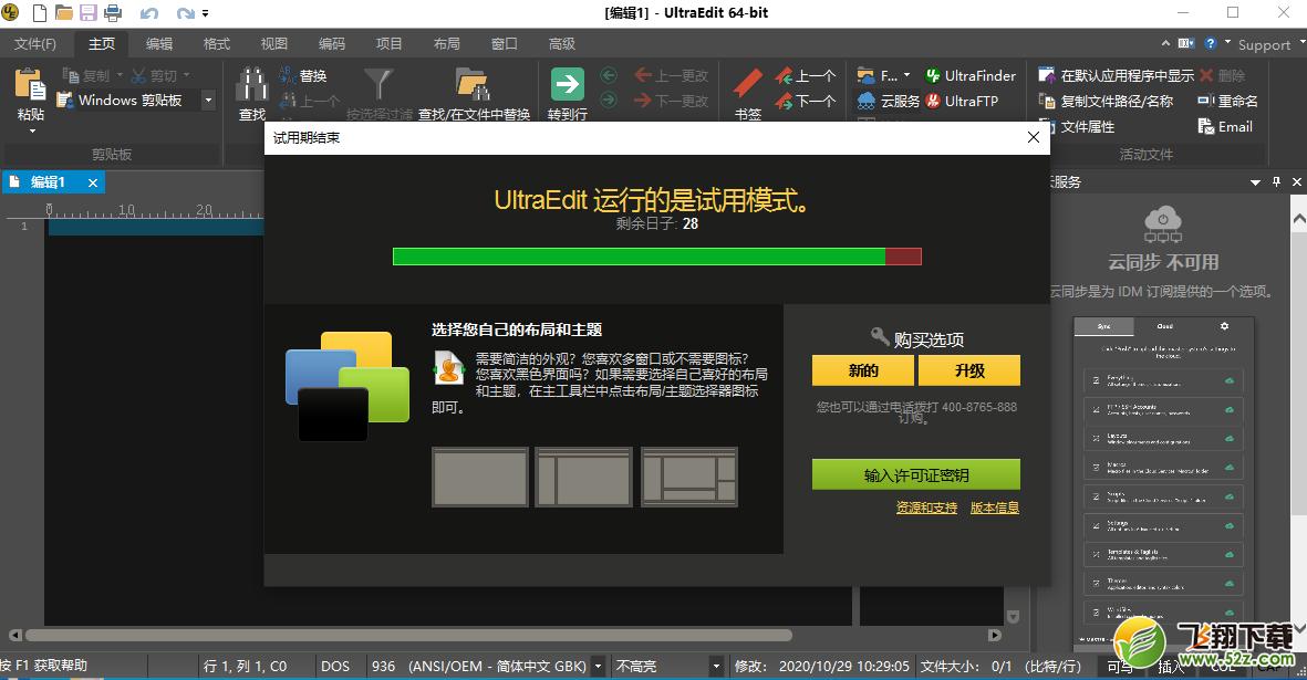 ultraEditV27.10.0.132 中文版_52z.com