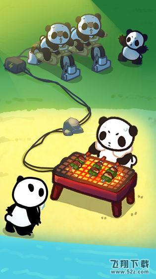 熊猫创造露营岛无限金币版_52z.com