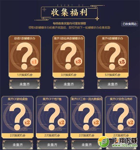 CF翩若惊鸿蝴蝶Q版盲盒活动地址在哪?_52z.com