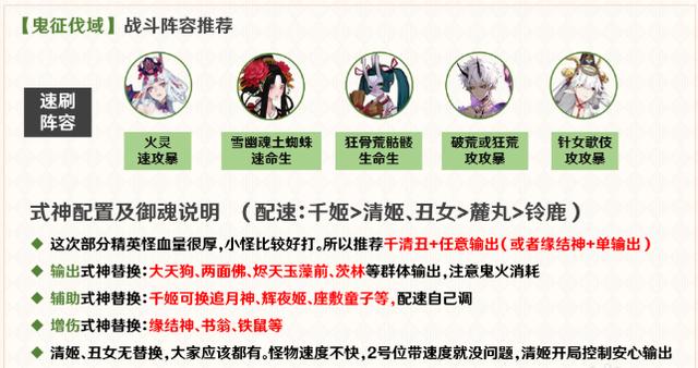 阴阳师鬼域讨伐阵容搭配推荐_52z.com