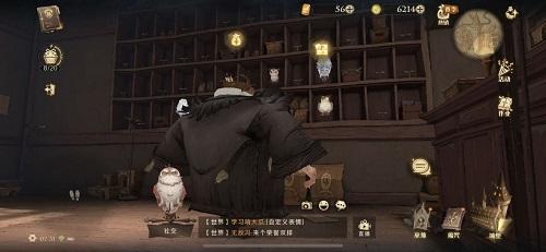 哈利波特魔法觉醒刚刚皮皮鬼穿过这里学猫头鹰咕咕直叫位置介绍