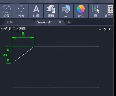 CAD倒斜角:快捷键CHA使用教程