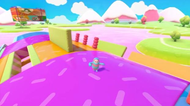 《糖豆人:终极淘汰赛》滚石行动关卡通关视频