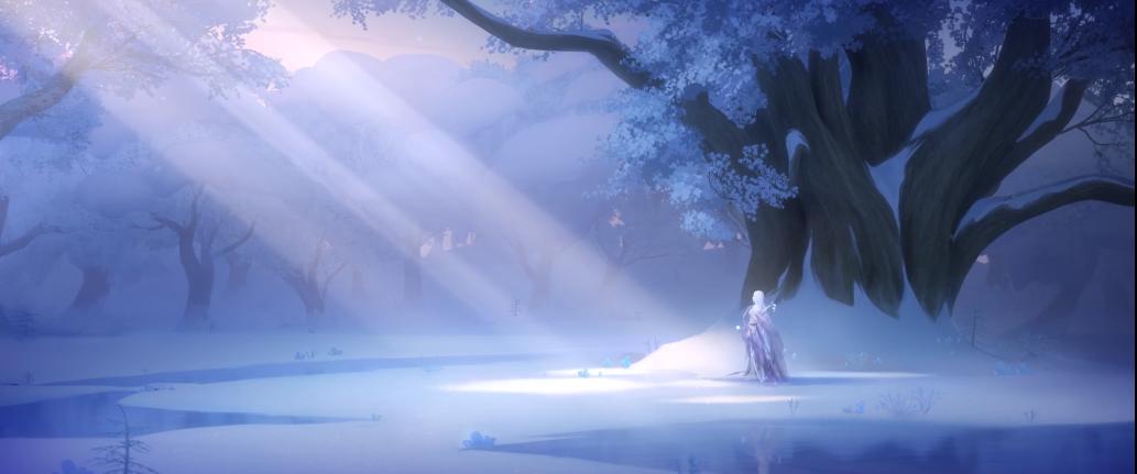 《阴阳师》全新CG预告-暖雪融冬,春深几许