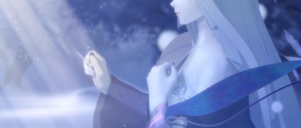 《阴阳师》蝉冰雪女CG- 暖雪融冬,春深几许
