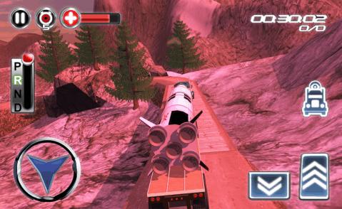 航天飞机运输车3d修改版游戏下载_航天飞机运输车3d版