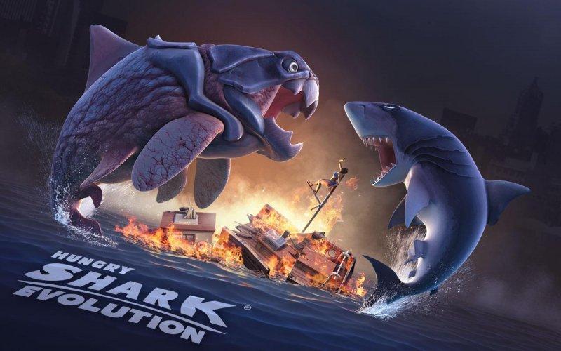 饥饿的鲨鱼进化破解版4.7.0V4.7.0 安卓版