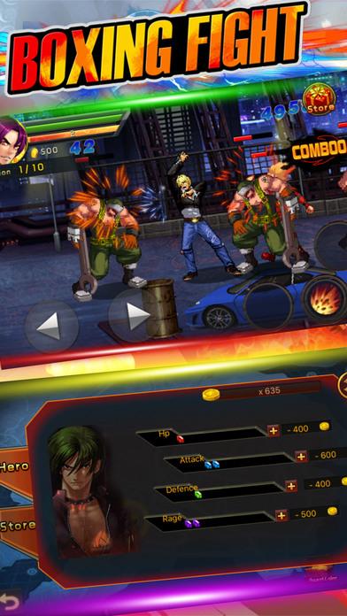 怒火拳皇街霸V1.0 安卓版