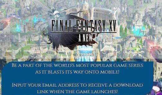 最终幻想15新帝国V1.0 苹果版