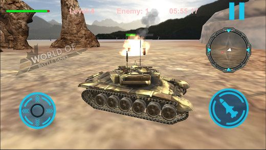 战斗坦克世界V1.0 苹果版