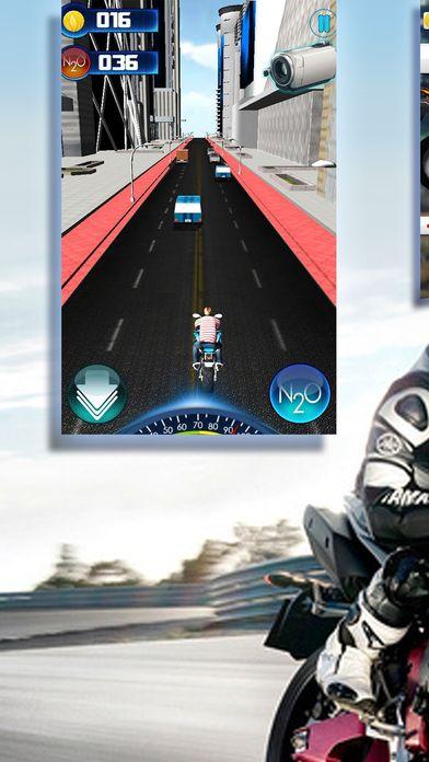 一款趣味十足的的小游戏,由方向键盘控制车速从而使摩托车能顺利越过山丘,但不能急于求成,过快的速度也会导致翻车的危险,所以,把握一个适当的速度是这个游戏的重点。