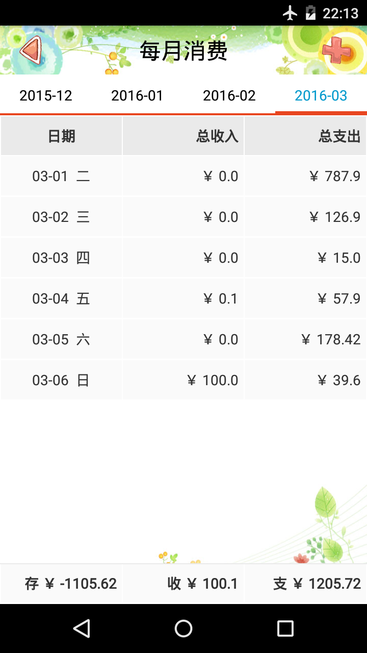 AA生活记账V5.8.0 安卓版