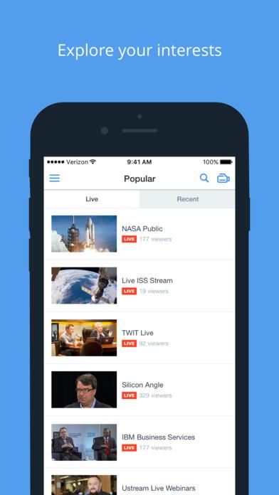 Ustream 直播appV3.0.5 安卓版