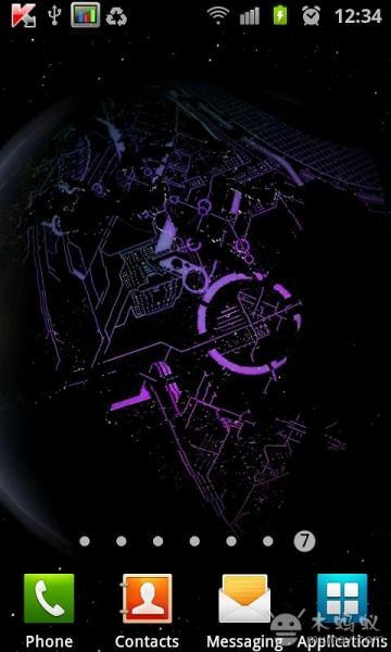 3D高清地球旋转动态壁纸V3.5.0 安卓版