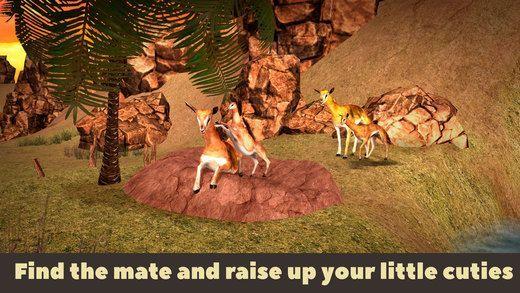 美洲驼野生动物模拟器3DV1.0 安卓版