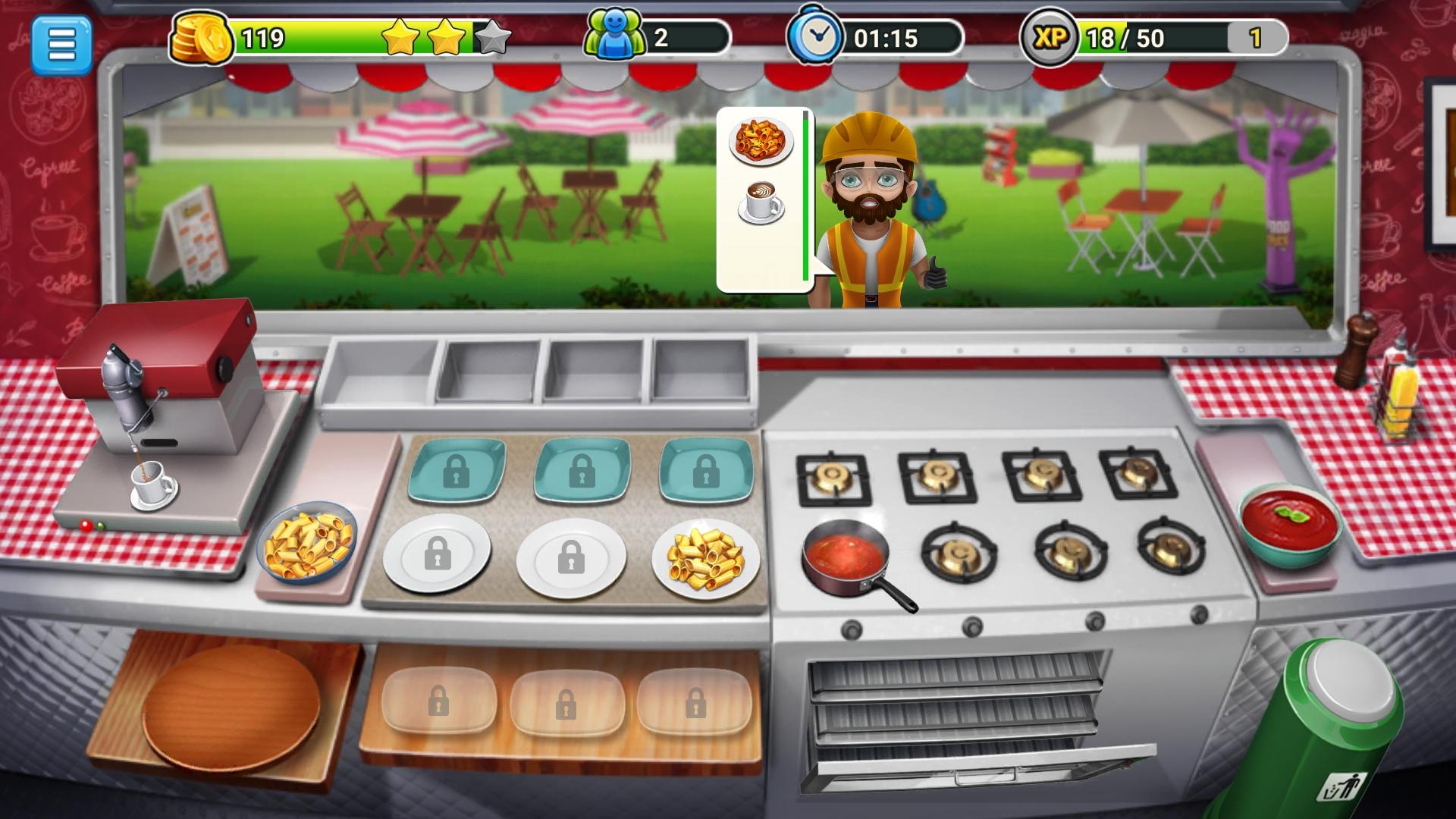 餐车厨师:烹饪V1.3.5 破解版