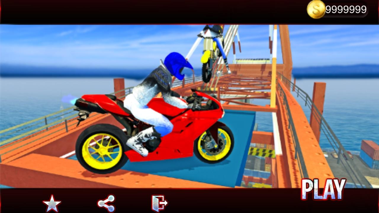 城市摩托车玩特技V1.5.6 破解版