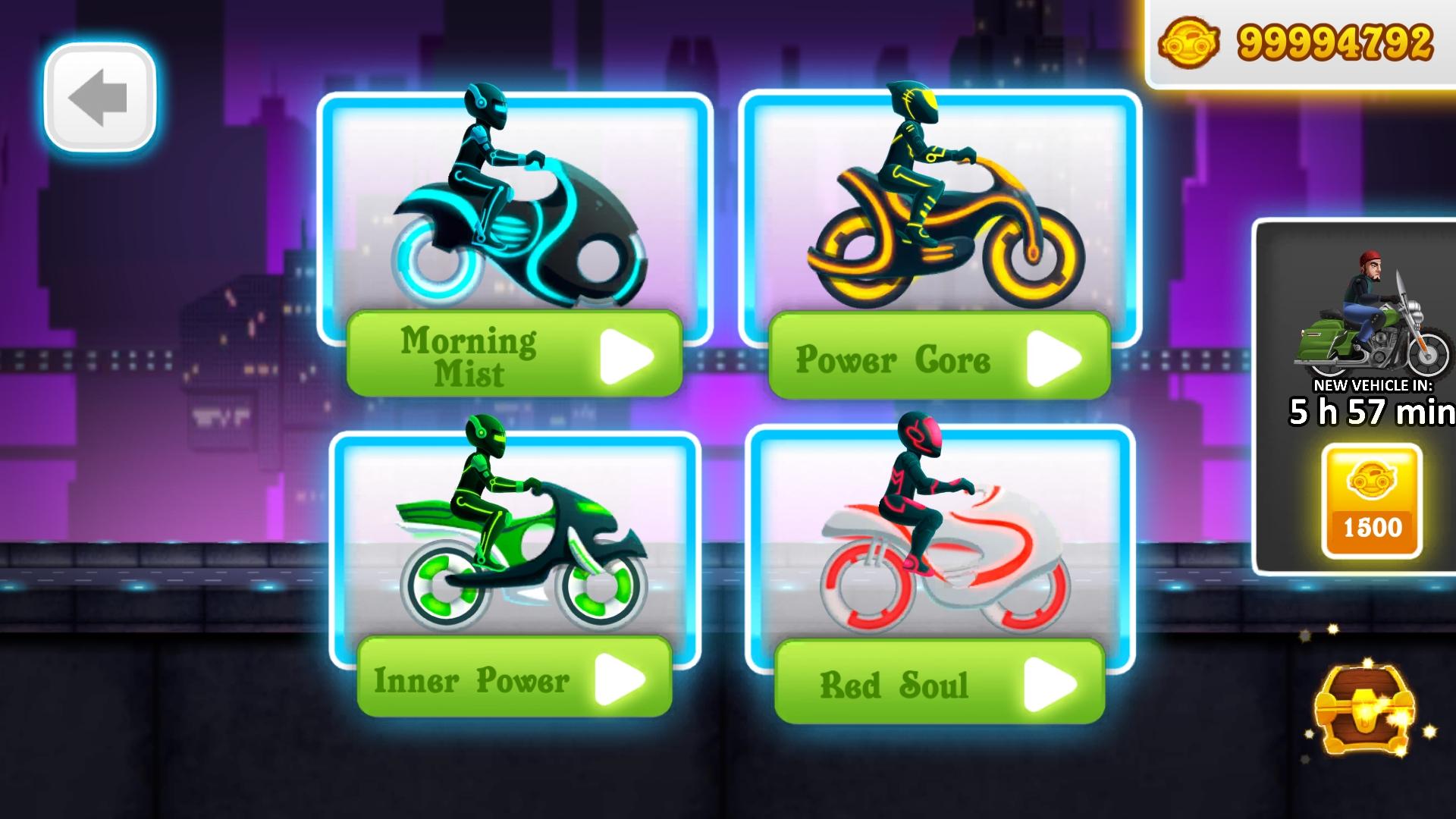 自行车比赛霓虹城的交通骑手游戏破解版下载|自行车城