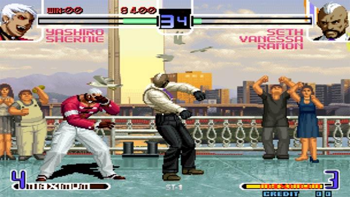 拳皇2002 魔幻加强版V3.8.4 安卓版