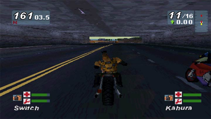 一款快节奏的3D赛车VR游戏。通过VR技术的支持,让你体验到不一样的暴力摩托的玩法,还记得PC端的经典的暴力摩托吗?现在让你感受更加有真实感的摩托车竞技游戏的玩法。