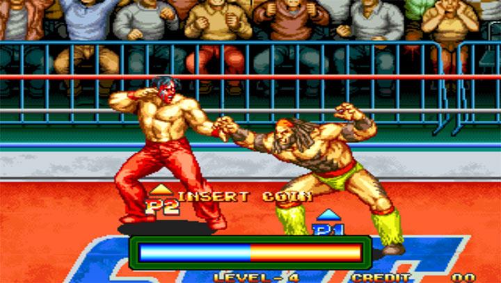 火线摔角街机版