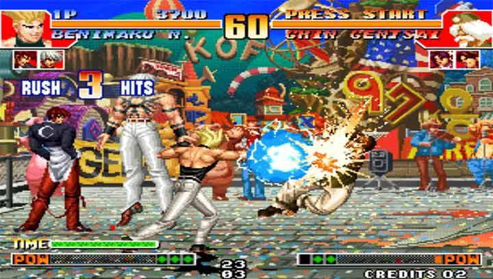 拳皇97屠蛇 无限气版V1.2.3 安卓版