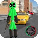 绿棍火柴人绳索英雄 V1.1 安卓版