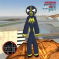 火柴人绳索英雄毒液 V1.0 安卓版