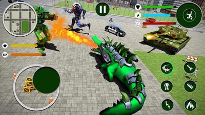 仿真鳄鱼机器人V1.8 安卓版