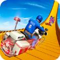 警用摩托巨型坡道特技游戏下载-警用摩托巨型坡道特技安卓版下载V2.7