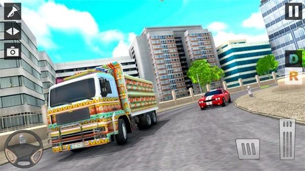 城市运输货车停车场最新版