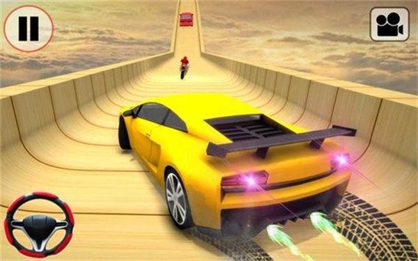 汽车特技竞赛3D免费版