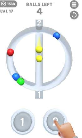 彩色弹球碰撞最新版