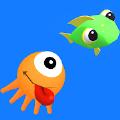 鱿鱼吃鱼跑 手机版