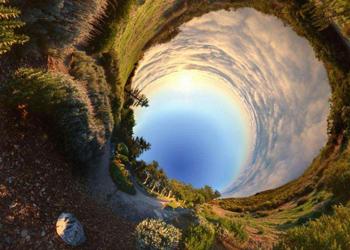 360度全景照片