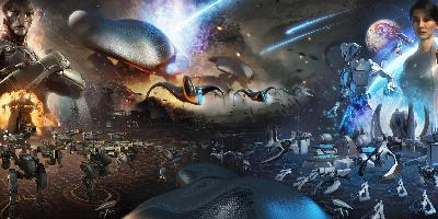 太空科幻风单机游戏